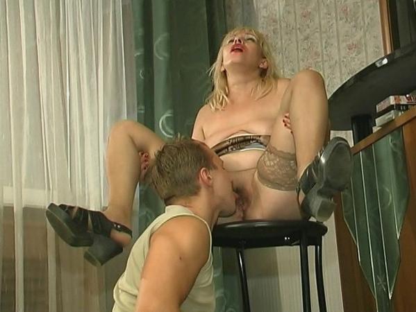 Blonde fucking with boy