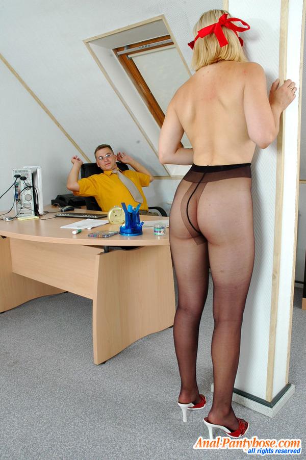 Ira peter anal pantyhose sex