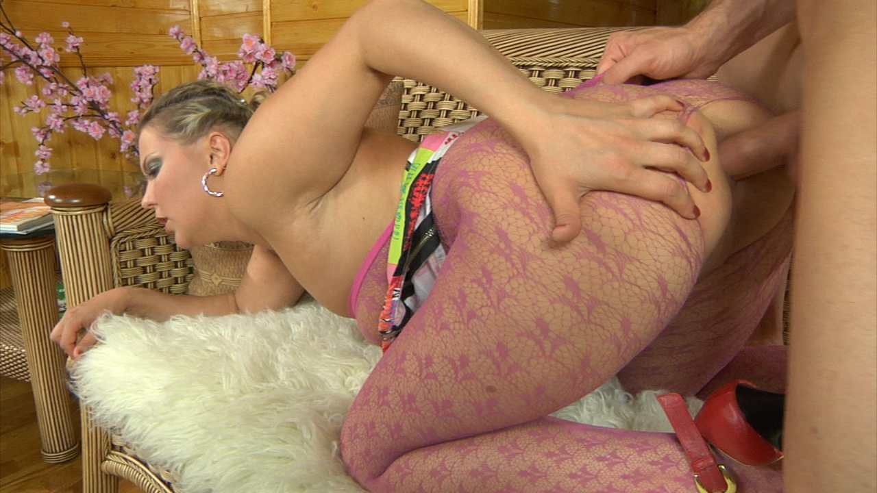 Megan & Douglas hot anal pantyhose video