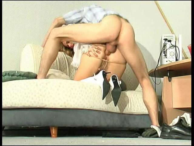 Susanna & Mike awesome anal pantyhose video