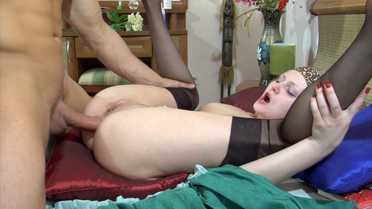 Cock-Hungry Gal Gets Her Ass Crammed Hard