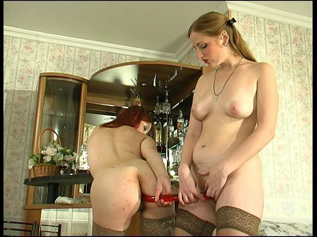 Agatha & Gertrude amazing anal lesbian action