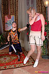 Silvia&Mike mature housewife and boy