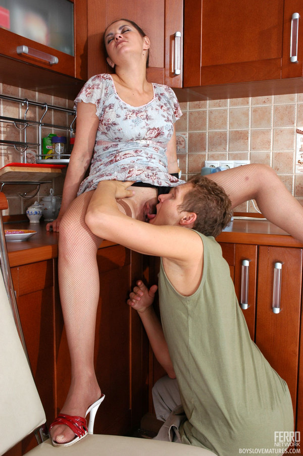 Milf Seduces Young Couple
