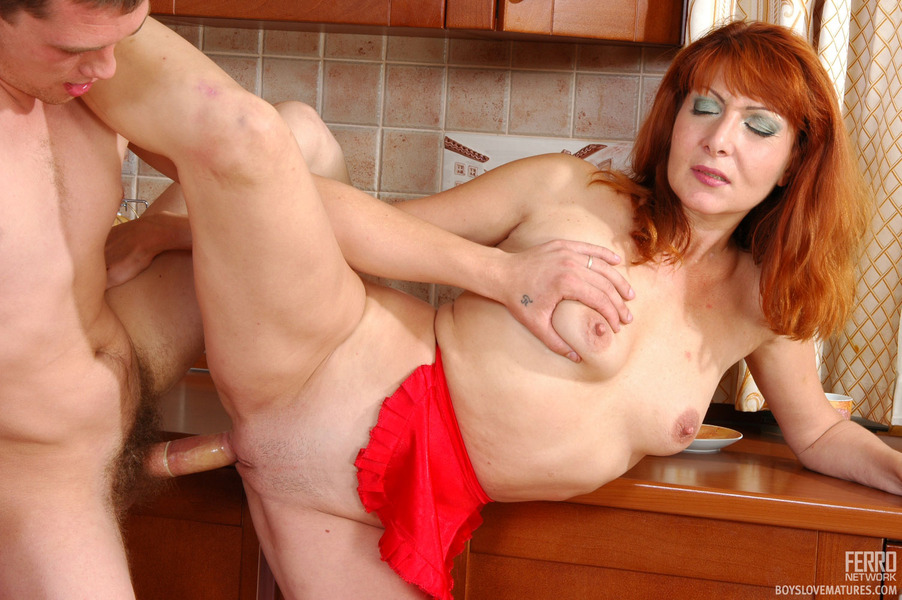 Senior fucking his hot and sexy maid are