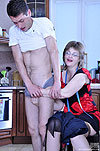 Leonora&Charles sex with mature prettie