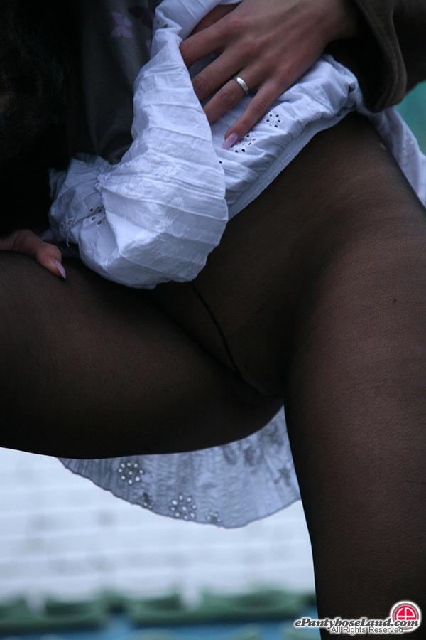 In The Pantyhose Era 35