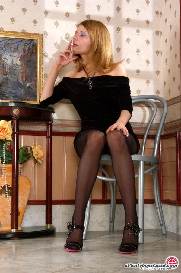 Idea and pantyhose smoking black confirm