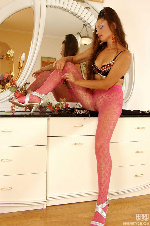 Bomb Cora Hot Pantyhose Wearer Emmie 22