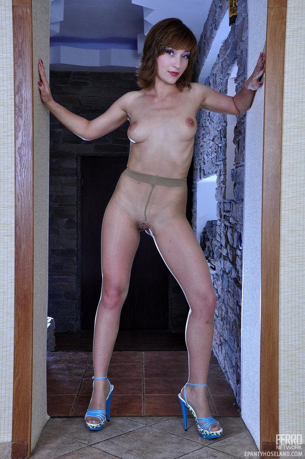 Exposing Pantyhose 59
