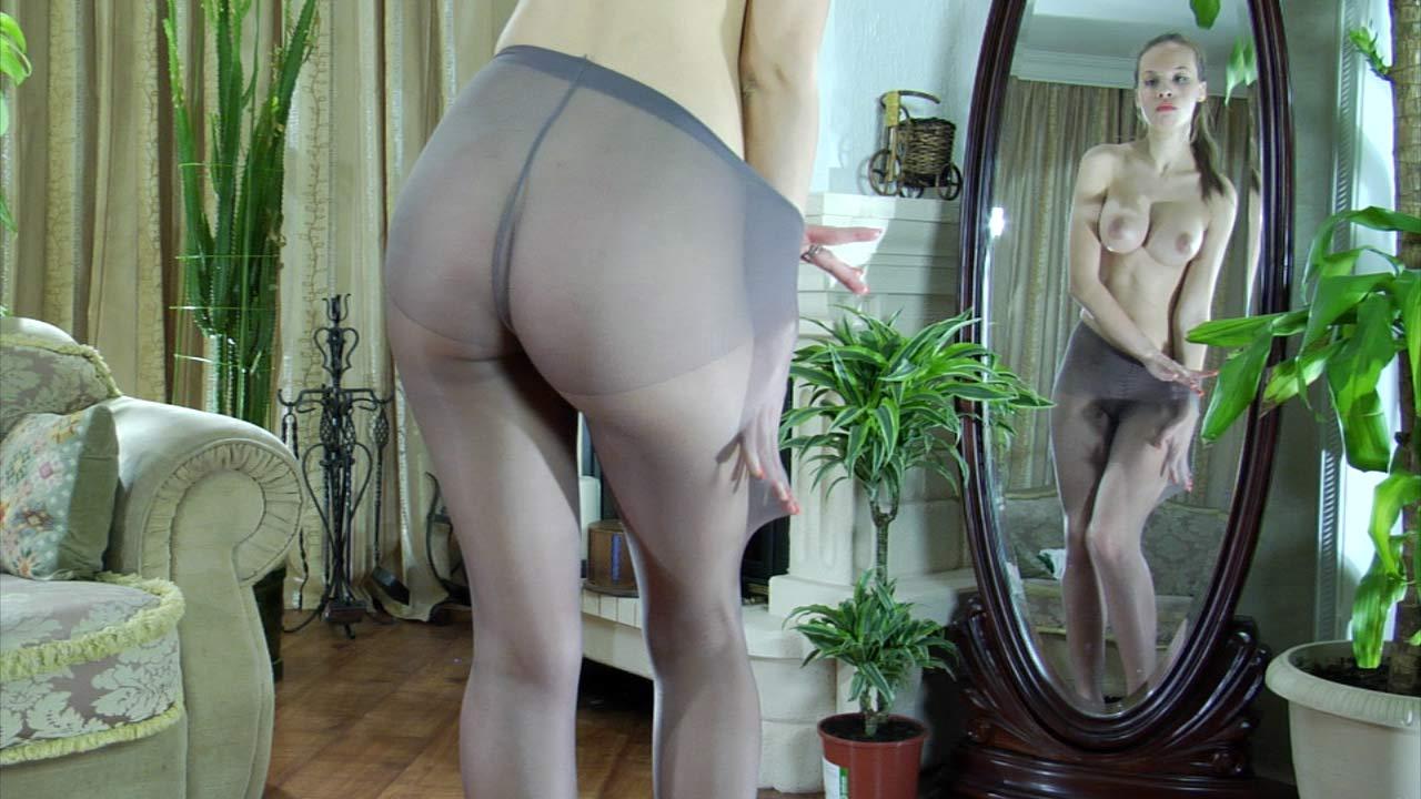 Irene in pantyhose movie