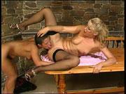 Bridget&Sheila live lesbian mature action