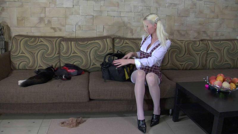 El Nino & Alyson Queen in Aunty Alyson and the Dwarf - PegasProductions
