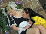 Lillian&Ninette lesbian mature video