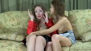 Leila&Laura mature lesbian movie