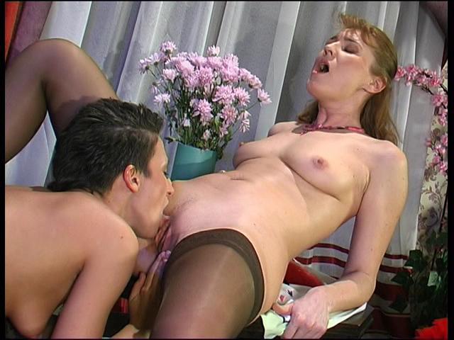 Bridget & Sheila mature lesbian movie