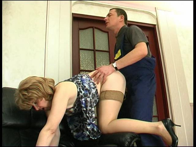 Elinor & Donald passionate mature action