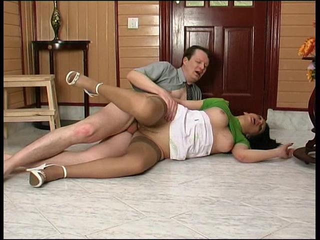 Laura & Brian oldman sex action
