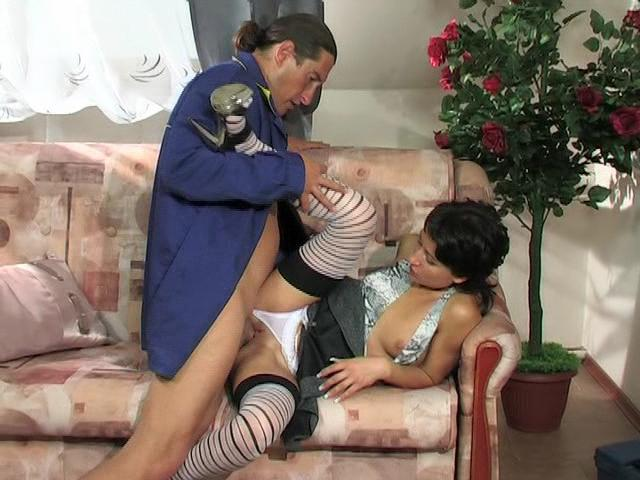 Subrina & Morgan girl and daddy movie