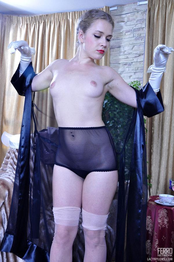 Classy lesbian lingerie sheer