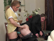 Susanna&Morris lustful strapon action