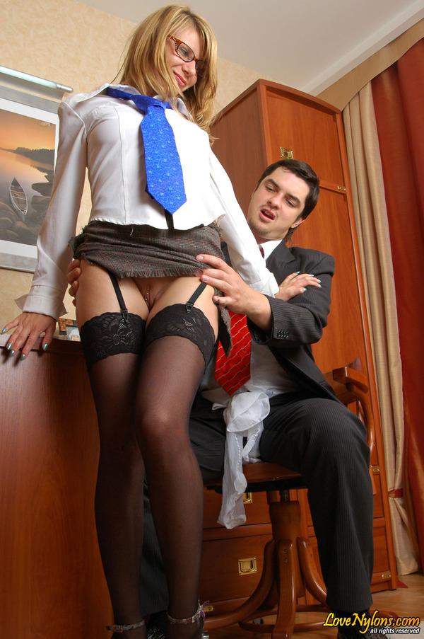 Русское порно в чюлках с секретаршой 23 фотография