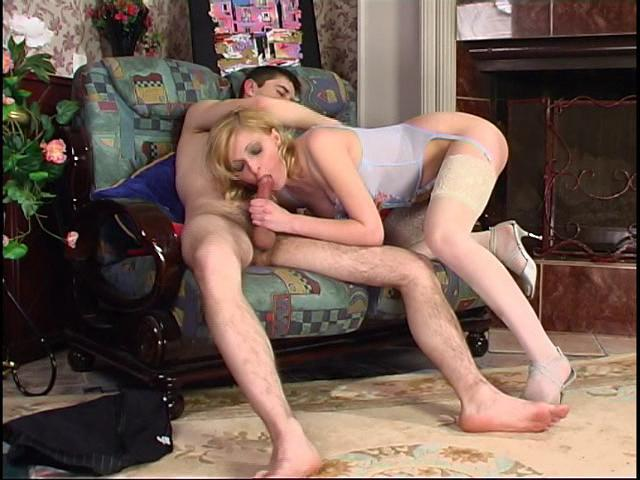 Olivia & Rudolf naughty nylon video