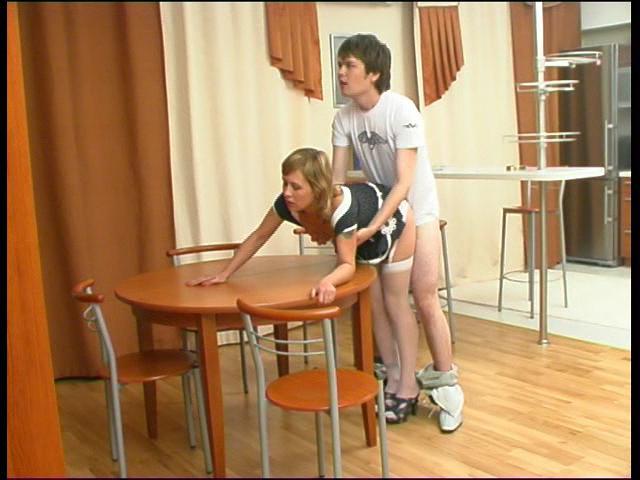 Mima & Ernest nylon fucking video