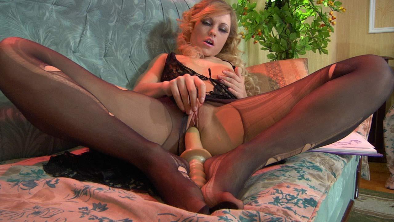 Blanch nylon sex action