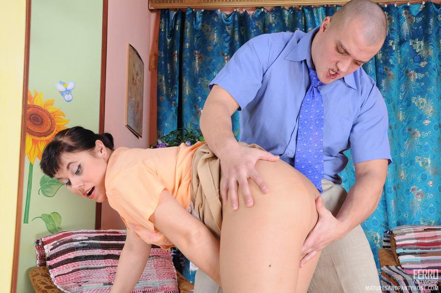 She makes him beg to lick