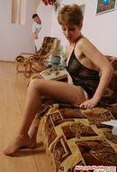 Mature Women in Pantyhose