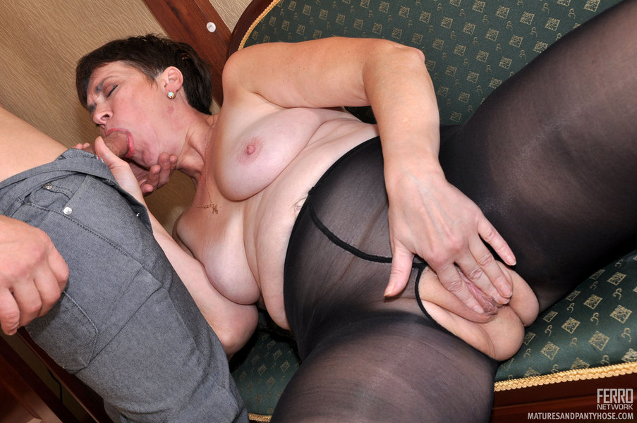 Xxx Mature Pantyhose Sex 75