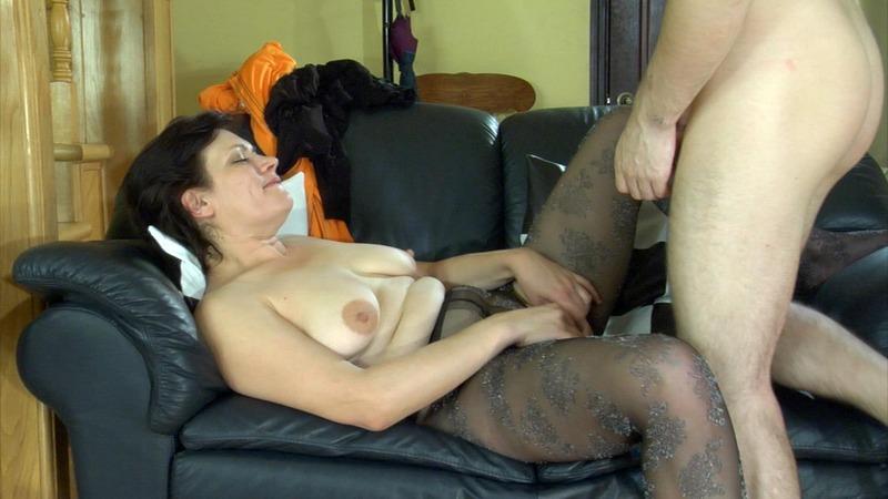 sex pantyhose hardcore action
