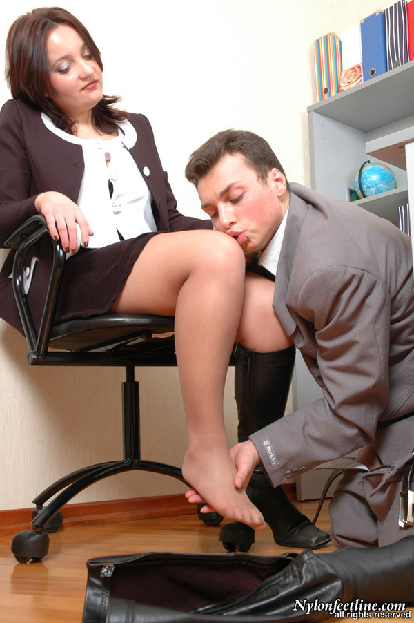 Office nylon feet
