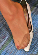 Feet in Nylon