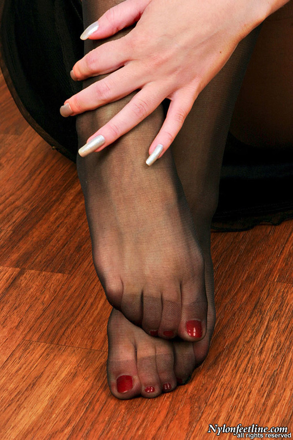 Pantyhose open toe sexy