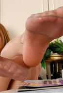 Feet in Nylon