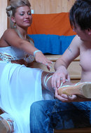 Foot Worshiping