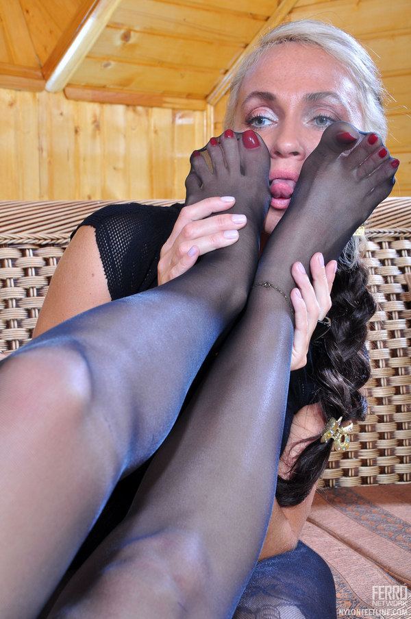 Words... Taking off pantyhose after work properties turns