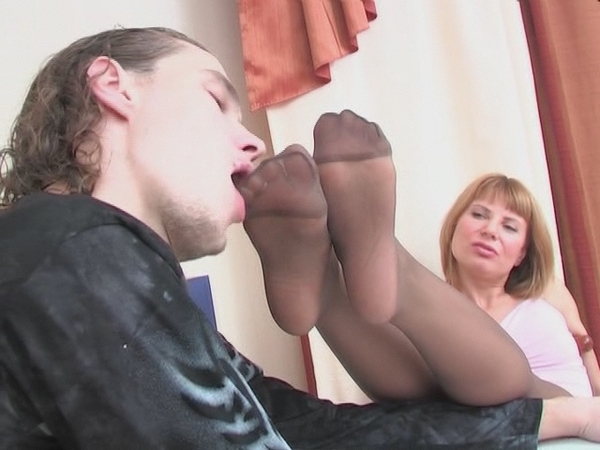 Toe Pantyhose Luring Horny 65