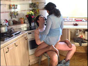 Isabella&Adam great nylon feet video