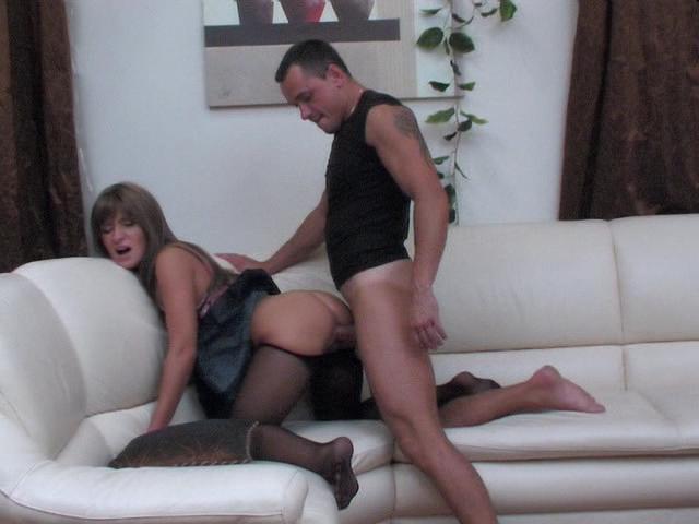 Dinah & Connor kinky nylon feet movie
