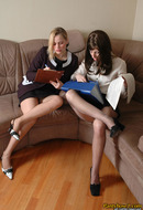 Lezzy Pantyhose Girls