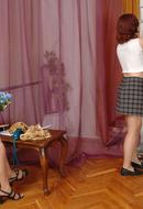 Lezzy Pantyhose Girls
