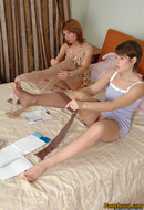 Pantyhose Worshiping
