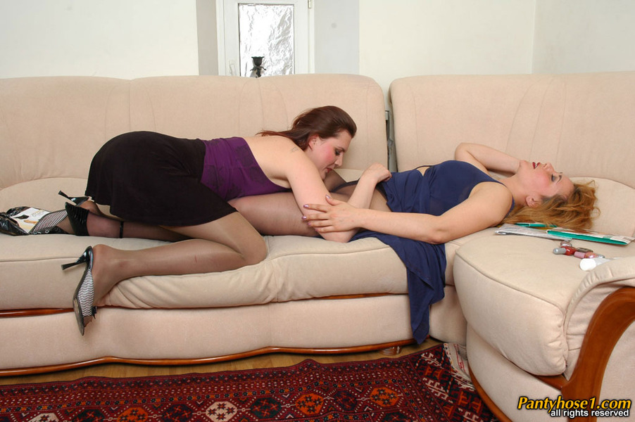 Pair Pantyhose Pantyhose Lickers 60
