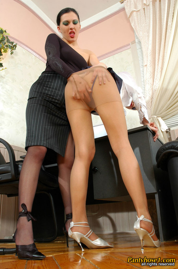 French are leggy lesbians seduce in hot pantyhose videos nice