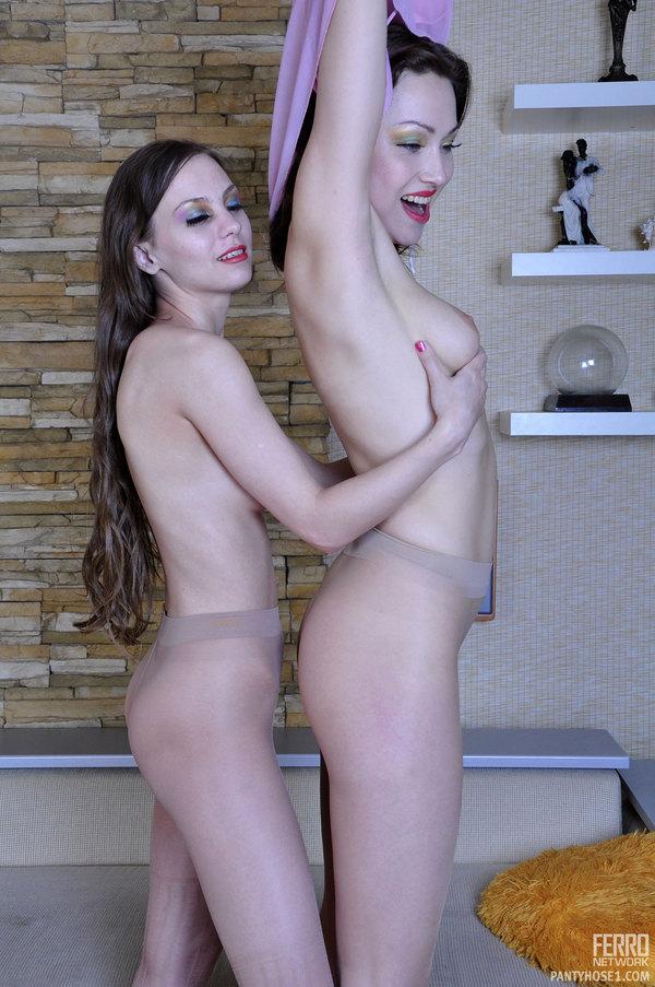 image Musky beauty nude in a dark dressing rom hidden cam clip