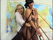 Rosalia and Flroence are so totally into the wild and weird hot office lesbian sex and that includes bizarre nylon pantyhose bdsm it looks like These two pantyhose office lesbians lovers just dont break down to some sloppy hot cunnilingus they take their pantyhose at the office and just go totally berserk until their hot pussy juices take over the room