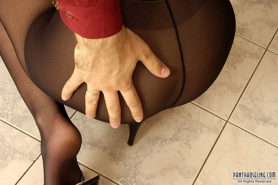 Think Hardsex pantyhose spanked think, that